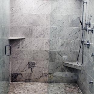 Shower tile installation NWI